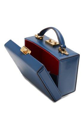 Женская сумка grace small box MARK CROSS темно-синего цвета, арт. W108153G | Фото 4