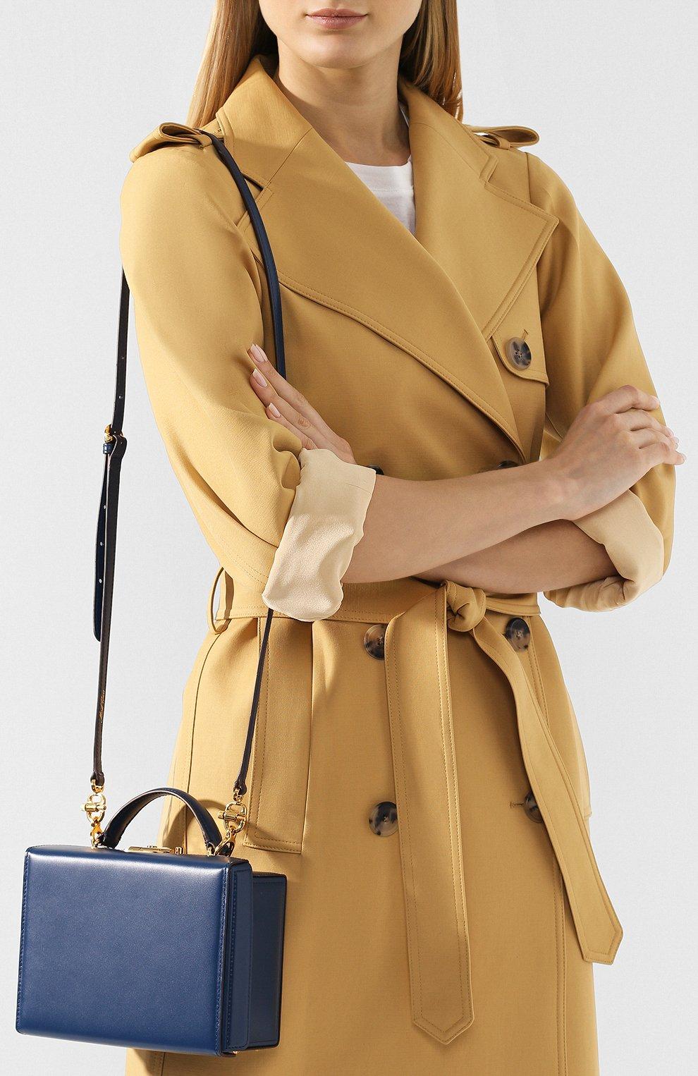 Женская сумка grace small box MARK CROSS темно-синего цвета, арт. W108153G | Фото 5