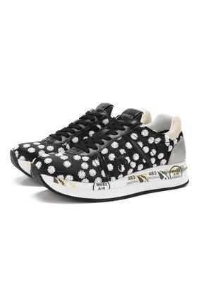Комбинированные кроссовки Conny | Фото №1