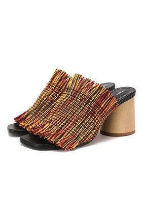 Текстильные мюли | Фото №1