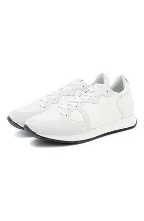Комбинированные кроссовки Monaco | Фото №1