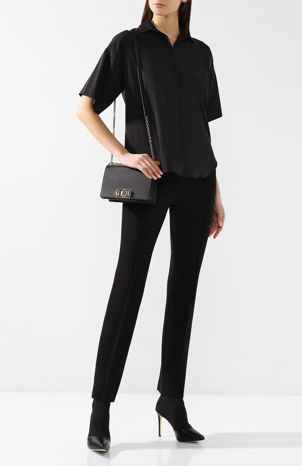 Сумка Mimì mini Furla черная цвета | Фото №2