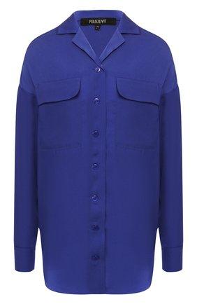 Блузка с накладными карманами | Фото №1
