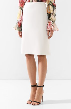 Шерстяная юбка | Фото №3