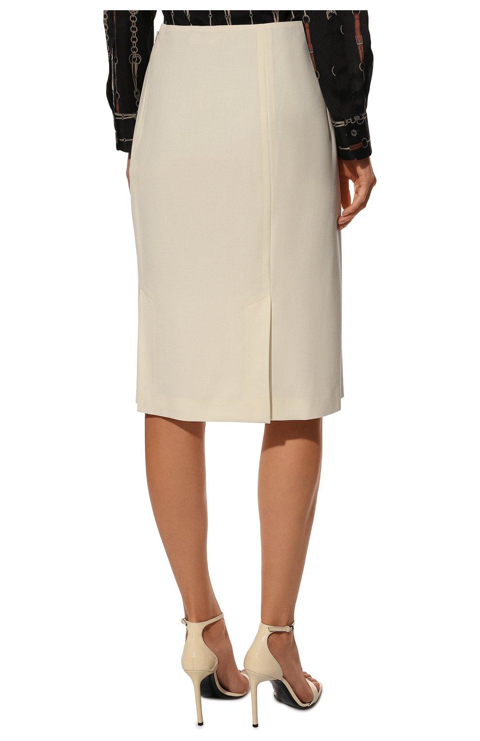 Шерстяная юбка | Фото №4