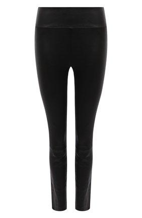 Женские леггинсы SPRWMN черного цвета, арт. ANK-003-L/ANKLE LEGGING | Фото 1