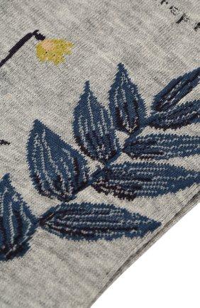 Женские хлопковые носки ANTIPAST серого цвета, арт. AM-706 | Фото 2