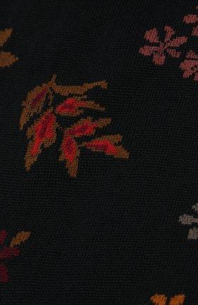 Женские хлопковые носки ANTIPAST черного цвета, арт. AM-709 | Фото 2