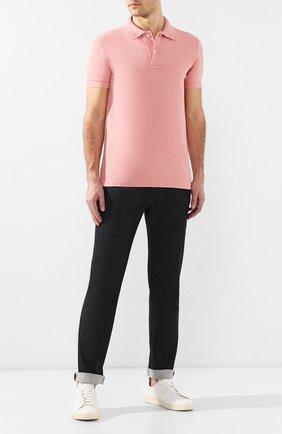 Мужские джинсы прямого кроя GIORGIO ARMANI черного цвета, арт. 3GSJ15/SD30Z | Фото 2