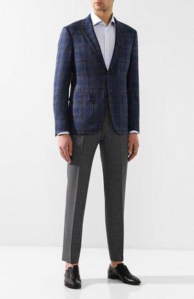 Мужские кожаные оксфорды H`D`S`N BARACCO черного цвета, арт. 69302.0* | Фото 2