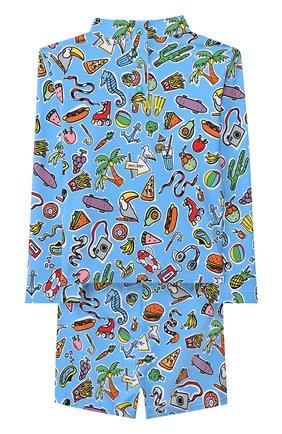 Комплект для плавания из лонгслива и шорт | Фото №2