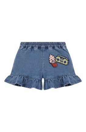 Детские джинсовые шорты KENZO синего цвета, арт. KN26017/6M-18M | Фото 1