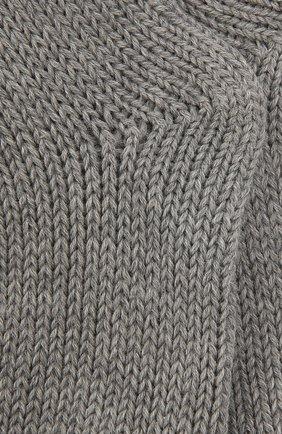 Детские носки из шерсти и хлопка FALKE серого цвета, арт. 10408 | Фото 2