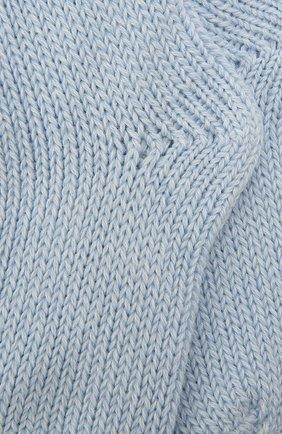 Детские носки из шерсти и хлопка FALKE голубого цвета, арт. 10408 | Фото 2