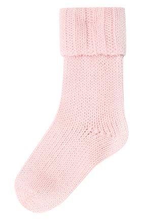 Детские носки из шерсти и хлопка FALKE светло-розового цвета, арт. 10408 | Фото 1