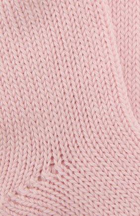 Детские носки из шерсти и хлопка FALKE светло-розового цвета, арт. 10408 | Фото 2