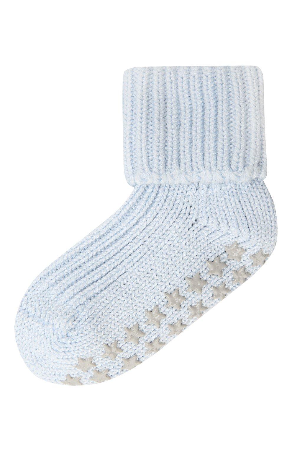 Детские хлопковые носки FALKE голубого цвета, арт. 10603 | Фото 1
