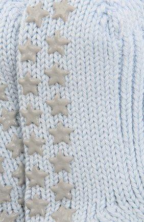 Детские хлопковые носки FALKE голубого цвета, арт. 10603 | Фото 2