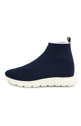 Детские текстильные кроссовки IL GUFO синего цвета, арт. G800/CALZIN0/27-30 | Фото 2
