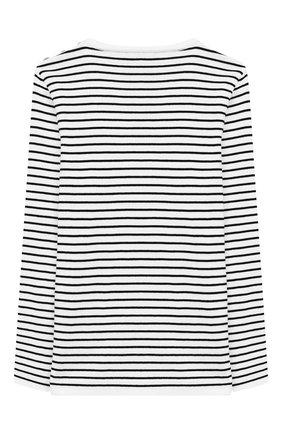 Детский хлопковый пуловер BALMAIN белого цвета, арт. 6K9510/KC630/4-10 | Фото 2