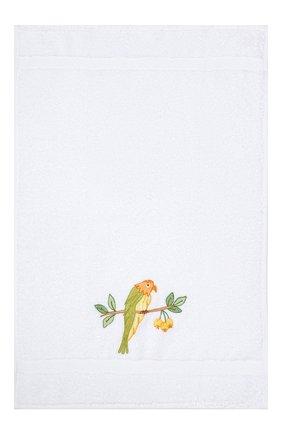 Детского хлопковое полотенце LORETTA CAPONI белого цвета, арт. 191K07358301301 | Фото 2