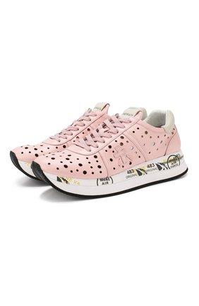 Кожаные кроссовки Conny | Фото №1