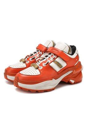 Кожаные кроссовки Retro Fit | Фото №1