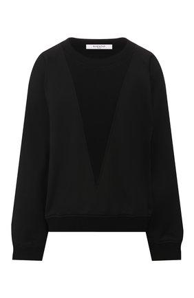 Пуловер свободного кроя | Фото №1