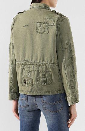 Хлопковая куртка   Фото №4