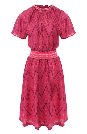 Платье из смеси хлопка и вискозы   Фото №1