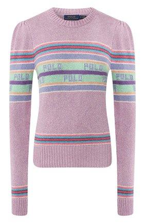 Шелковые пуловер | Фото №1