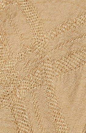 Женские носки ANTIPAST золотого цвета, арт. AM-277A | Фото 2