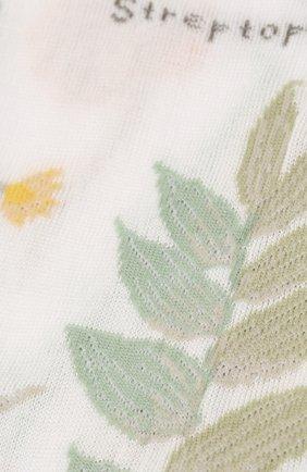 Женские хлопковые носки ANTIPAST белого цвета, арт. AM-706 | Фото 2