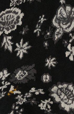 Женские хлопковые носки ANTIPAST черного цвета, арт. AM-707 | Фото 2