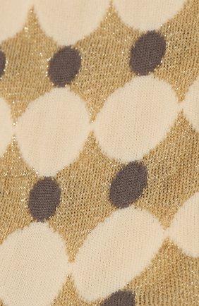 Женские носки ANTIPAST золотого цвета, арт. AM-711A | Фото 2
