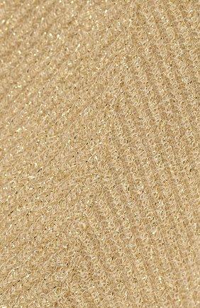 Женские носки ANTIPAST золотого цвета, арт. AS-89E | Фото 2