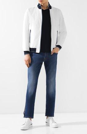 Мужские джинсы прямого кроя SARTORIA TRAMAROSSA синего цвета, арт. MICHELANGEL0/D375/12M0N | Фото 2