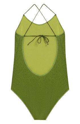 Детского слитный купальник OSEREE зеленого цвета, арт. LIS601 G/MAILL0T LUREX | Фото 2