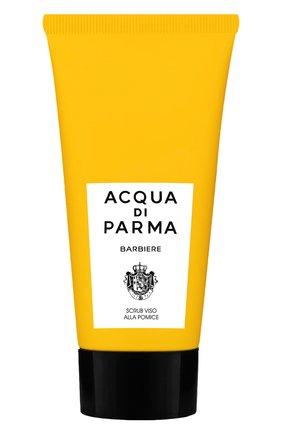 Мужского отшелушивающий скраб для лица barbiere ACQUA DI PARMA бесцветного цвета, арт. 52012 | Фото 1