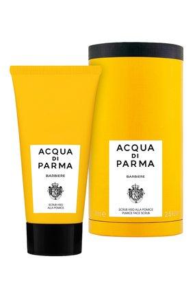 Мужского отшелушивающий скраб для лица barbiere ACQUA DI PARMA бесцветного цвета, арт. 52012 | Фото 2