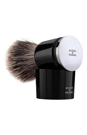 Мужская помазок для бритья из барсучьей шерсти barbiere ACQUA DI PARMA бесцветного цвета, арт. 52020 | Фото 1
