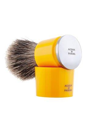 Мужская помазок для бритья из барсучьей шерсти barbiere ACQUA DI PARMA бесцветного цвета, арт. 52021 | Фото 1