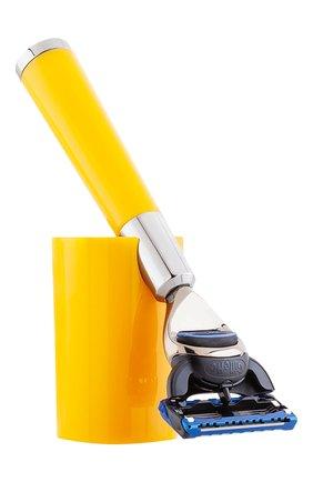 Мужская бритвенный станок fusion barbiere ACQUA DI PARMA бесцветного цвета, арт. 52023ADP | Фото 1