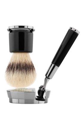 Мужская станок и помазок для бритья deluxe stand barbiere ACQUA DI PARMA бесцветного цвета, арт. 52024 | Фото 1