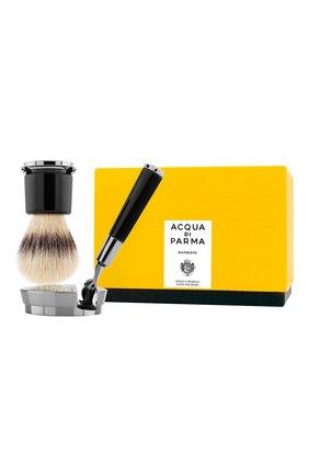 Мужская станок и помазок для бритья deluxe stand barbiere ACQUA DI PARMA бесцветного цвета, арт. 52024 | Фото 2