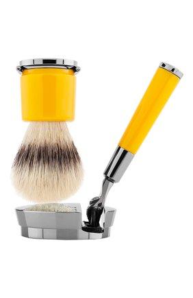 Мужская станок и помазок для бритья deluxe stand barbiere ACQUA DI PARMA бесцветного цвета, арт. 52025 | Фото 1