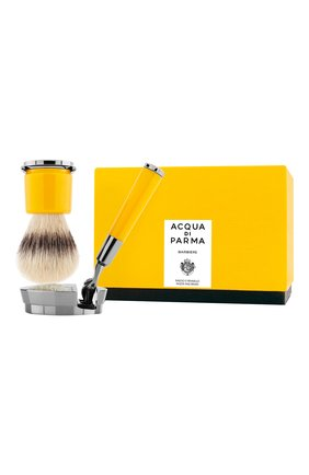 Мужская станок и помазок для бритья deluxe stand barbiere ACQUA DI PARMA бесцветного цвета, арт. 52025 | Фото 2