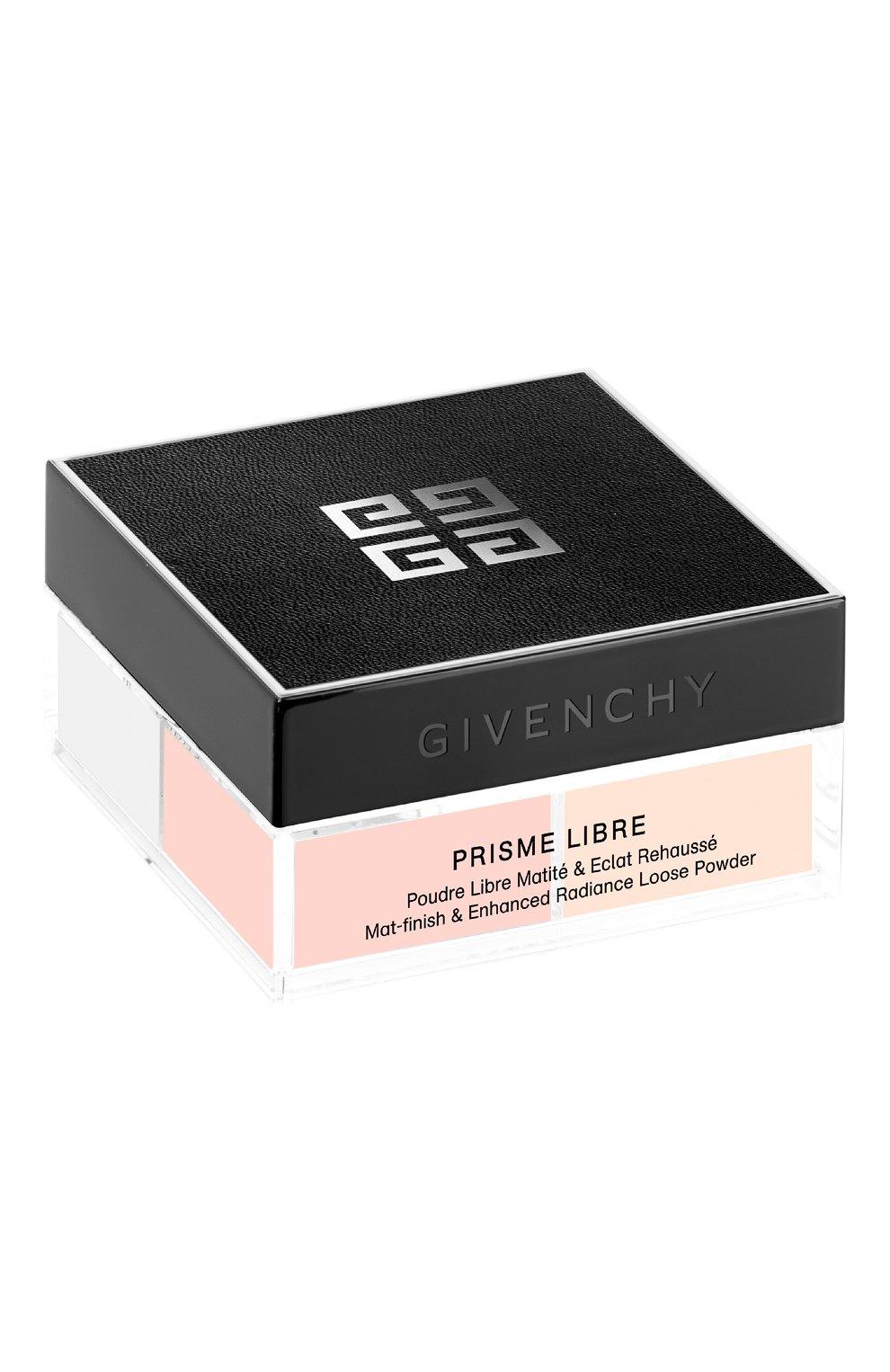 Рассыпчатая пудра Prisme Libre, оттенок 5 Satin Blanc Givenchy   Фото №2
