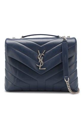 Женская сумка monogram loulou small SAINT LAURENT синего цвета, арт. 494699/DV726 | Фото 6
