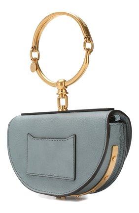 Женская сумка nile minaudière CHLOÉ голубого цвета, арт. CHC17US302H5H | Фото 3